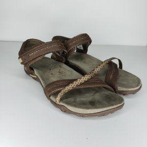 Merrell Dark Earth Brown  Sport Hiking Sandals